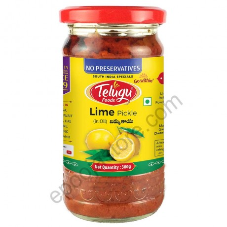 Lime In Oil Pickle