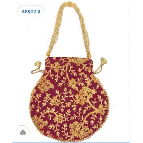 Embroidered Potli Bags