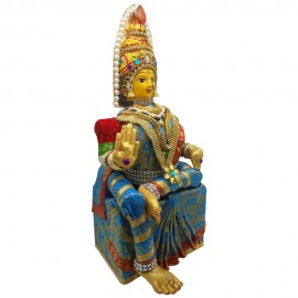 Varalakshmidevi Idol Set (Blue Colour)