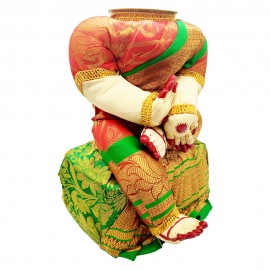 Ammavari Idol (Red Colour with Green Border) (10 Inchs)