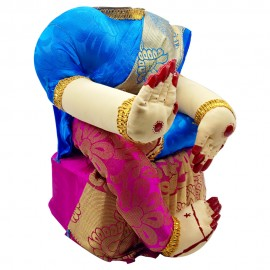 Ammavari Idol (Pink Colour with Blue border) (10 Inchs)