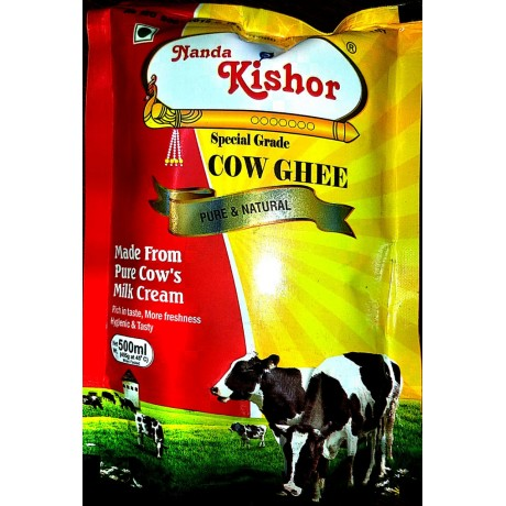 Nanda Kishor Pure Cow Ghee(500 ML)