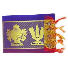 Namo Border  Kanduva ( Blue ) ( Pack of 2 )