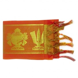 Namo Border  Kanduva ( Orange ) ( Pack of 2 )