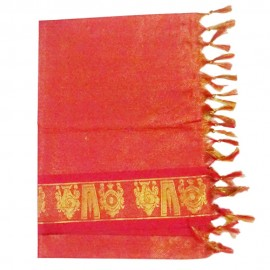 Namo Border Zari Shawl ( Red )