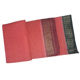 Red Colour Cotton Dhoti (9*5)