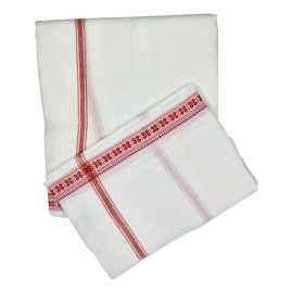 Banaras Dhothi (Yellow Colour) (9*5)
