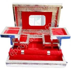 Jewelry Box ( Meenakari Silver)