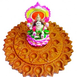Decorative Mud Diyas (31 Diyas)