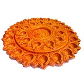 Decorative Mud Diyas (31 Diyas)