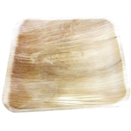 Eco-Friendly Palm Plates ( Square Shape-8 Inchs) (20 Pieces)