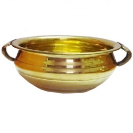 Designed  Bowl (Brass)