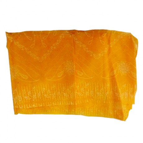 Saree for Deities ( Yellow Colour )