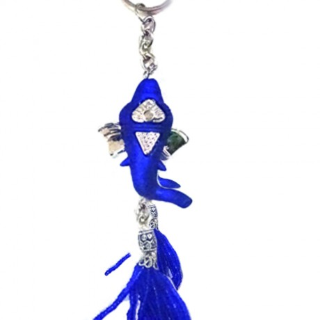 Ganesha key chain (Blue Color )