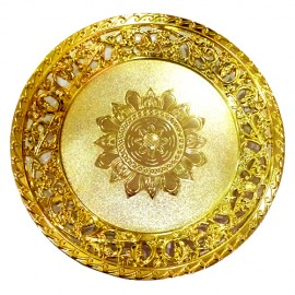 Decorative Tray with Gold Colour
