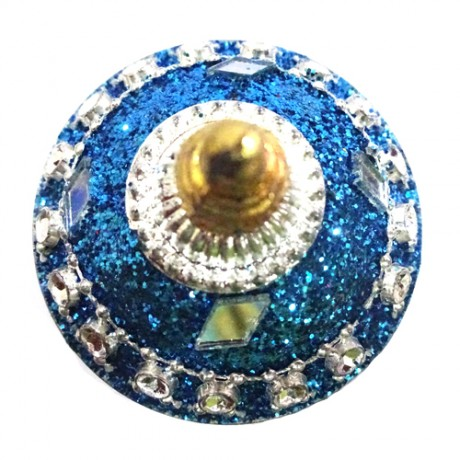 Designed kumkum Bharani (Blue Color)