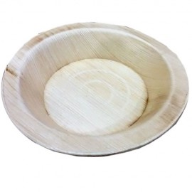 Eco-Friendly Palm Plates ( Round Bowl - 6 Inchs) (20 Pieces)