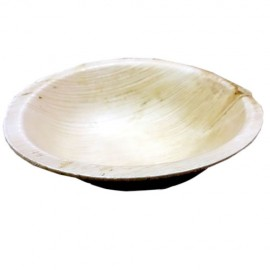 Eco-Friendly Palm Plates ( Round Bowl - 4 Inchs) (20 Pieces)