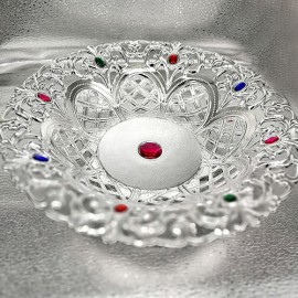 Decorative Tray(Silver Colour)