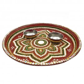 Designed Thali set