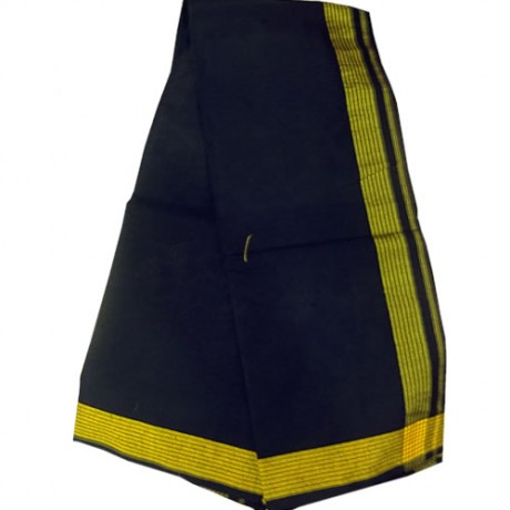 Ayyappa Swamy (Yellow Seer Border Dhoti 1.9mtr)