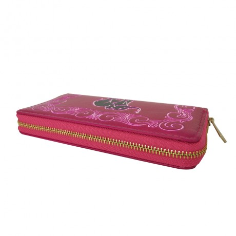 PU Leather Pink Wallet